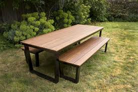 patio table and bench outdoor furniture with bench seating outdoor designs