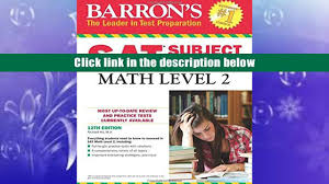 download barron s sat subject test math level 2 12th edition