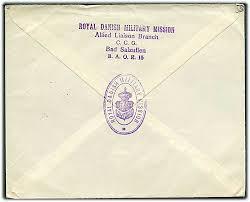 Post Bad Salzuflen Ufrankeret Feltpostbrev Med Svagt Stempel Field Post Office 302 D