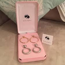 hepburn earrings hepburn hoop earring replicas nwt silver color jewelry