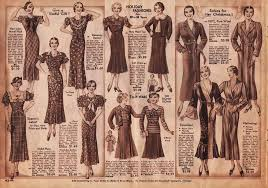 women s clothing 1930s fashion women pictures advertisements prices