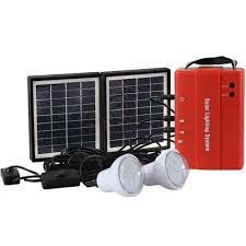 How To Charge Solar Lights - buy 3 4w solar lighting system with mobile charge led bulb light