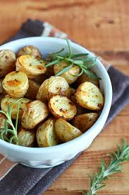 simple herb roasted potatoes i vegan