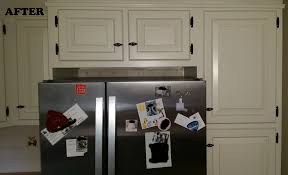 Kitchen Cabinet Painter by Kitchen Cabinet Refinishing Before And After Spray Painting Yeo Lab
