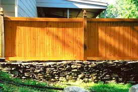 Privacy Fence Ideas For Backyard Outdoor And Patio Black Iron Home Fence Designs Andwhite Concrete