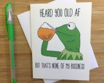 Meme Birthday Card - funny birthday card dank meme birthday by crappylittlethings meme
