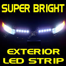 Exterior Led Strip Lighting White Led 2x 12