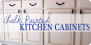 Diy How To Paint Kitchen Cabinets Painted Kitchen Cabinets Chalk Paint Well Groomed Home