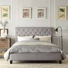 Upholstered Bed Frame Cole California by Ana White Upholstered Bed Frame King Size Diy Projects Intended