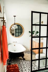 eclectic bathroom ideas bathroom black and white theme based bathtub design for eclectic