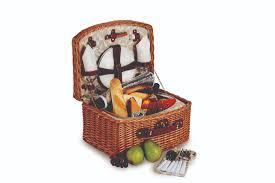 plus benton 2 person picnic basket vine lining