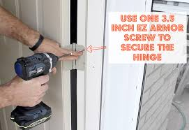 Security Hinges For Exterior Doors How To Reinforce An Entry Door And Make It Burglar Proof Pretty