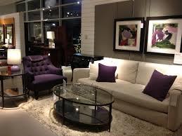 purple living room set leather furniture purple leather