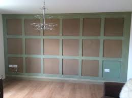 shaker panelling unfinished ie ready to prime and paint feature