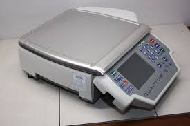 hobart quantum max os deli grocery meat printer scale suffix qmax