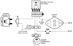 repair guides engine mechanical auxiliary cooling fan