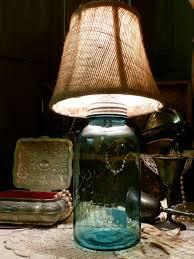 antique mason jar lamp chaotic soul