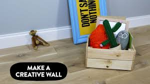 how to build a creative wall sugru