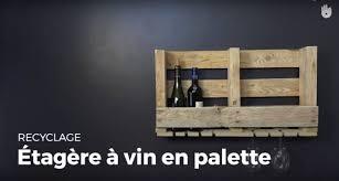Rangement Pour Cave A Vin Créer Une étagère à Vin En Palette Recycler Youtube