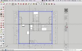 Fine Woodworking 221 Pdf by Draw A Floor Plan In Sketchup From A Pdf Tutorial