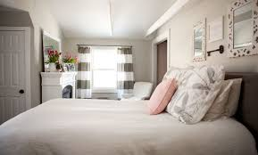 Curtains In The Bedroom Remarkable Ways To Inspire With Striped Curtains