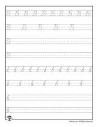 cursive writing practice worksheets woo jr kids activities