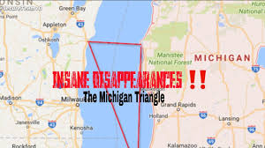 Holland Michigan Map by Insane Disappearances U203c The Michigan Triangle Youtube