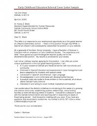 unique employee referral cover letter sample 92 on best cover