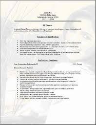 free general resume template hr general resume exles sles free edit with word
