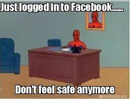 Facebook Meme Creator - meme creator just logged in to facebook don t feel safe