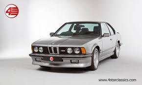 bmw m635csi for sale uk bmw e24 m635 csi fsh for sale 1987 on car and