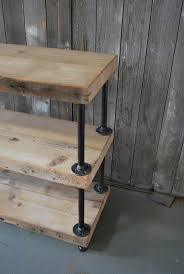 Reclaimed Wood Shelves industrial reclaimed wood shelves 3 shelves or something more
