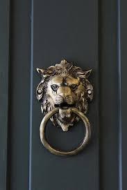 lion door knocker brass lion door knocker from rockett st george