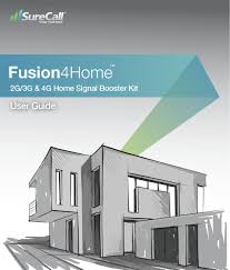 Home 4g by Surecall Fusion4home Signal Booster Kit For Cell Phones
