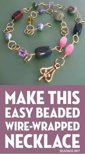 necklace wire images Learn how to make wire jewelry beadage jpg