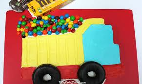 dump truck sheet cake tutorial my cake