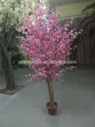 artificial blossom tree wedding table tree centerpieces