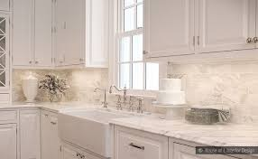 White Kitchen Tile Backsplash Subway Calacatta Gold Tile Backsplash Idea Backsplash