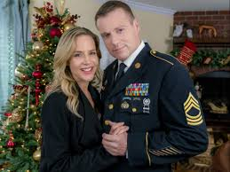 christmas homecoming michael shanks and julie benz film set for