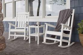 White Rocking Chair Outdoor by Furniture Impressive White Porch Rocking Chairs Rock Solid