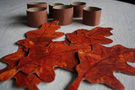 fall napkin rings for to make happy hooligans