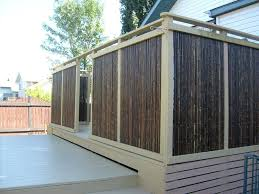 privacy screen for deck home design