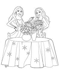 barbie coloring pages free barbie coloring pages printable