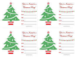 funny free christmas party invitations with white background