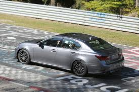 lexus trd spyshots lexus gs f performance sedan prototype features trd