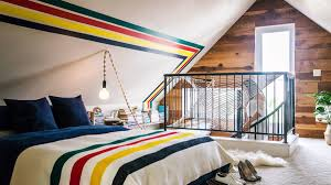 ideas for a finished attic sunset