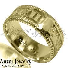 men gold ring design mens 18k solid gold ring ebay