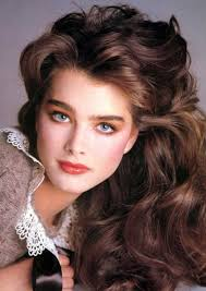 hairstyles in 1983 brooke shields 1983 movie stars pinterest brooke shields