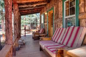 cabin porch stonewall lodge mls16 464 capture colorado mountain properties