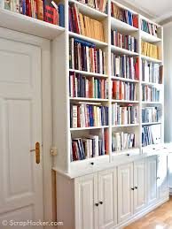 Ikea Bookcase Ladder by Fresh Billy Bookcase Hacks 81 About Remodel Ladder Bookcase Desk